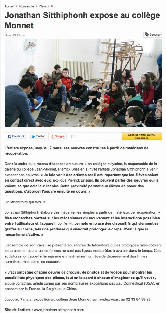 article ouestfrance